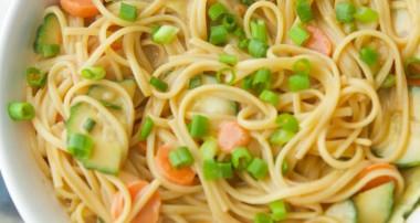 Spicy Peanut Noodle Salad