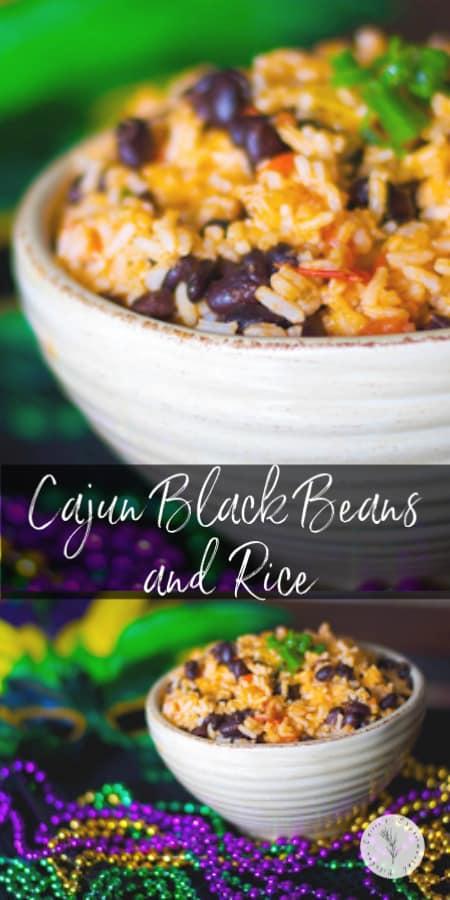 Cajun Black Beans and Rice