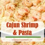 If you're looking for a simple to make, tasty seafood dish with a little kick, this Cajun Shrimp & Pasta recipe is for you.