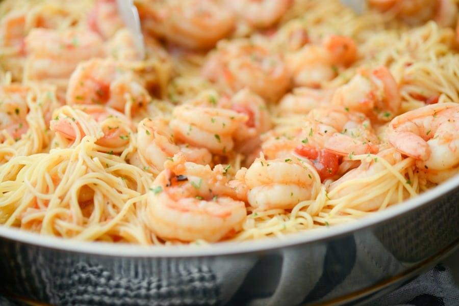 Cajun Shrimp & Pasta