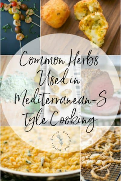 Learn which Mediterranean herbs and spices are commonly used in many of Carrie's Experimental Kitchen's recipe experiments.