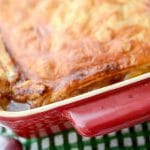 Guinness Steak and Leek Pie