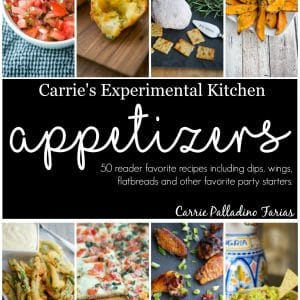 Carrie's Experimental Kitchen Appetizer eBook
