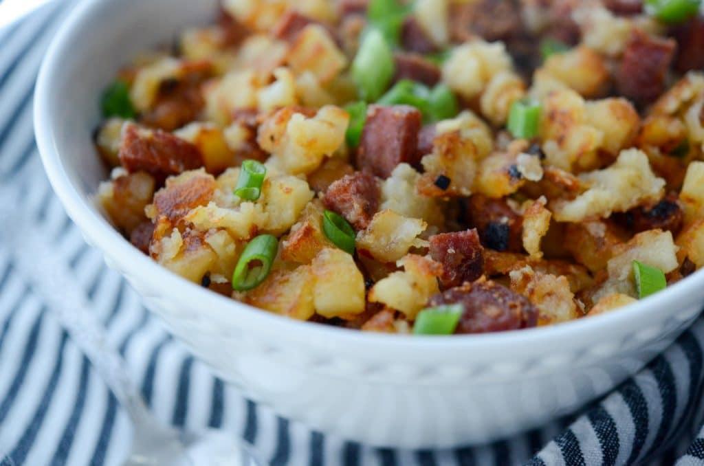 Chorizo and Potatoes