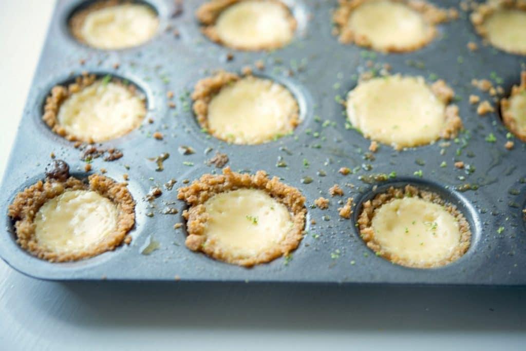 Key Lime Pie Tassies in Pan