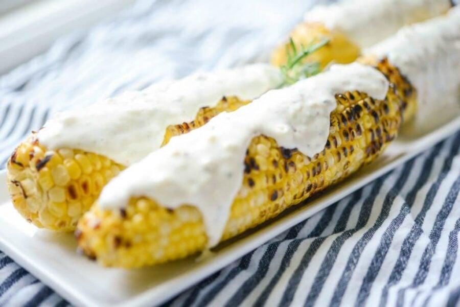 Italian Grilled Street Corn