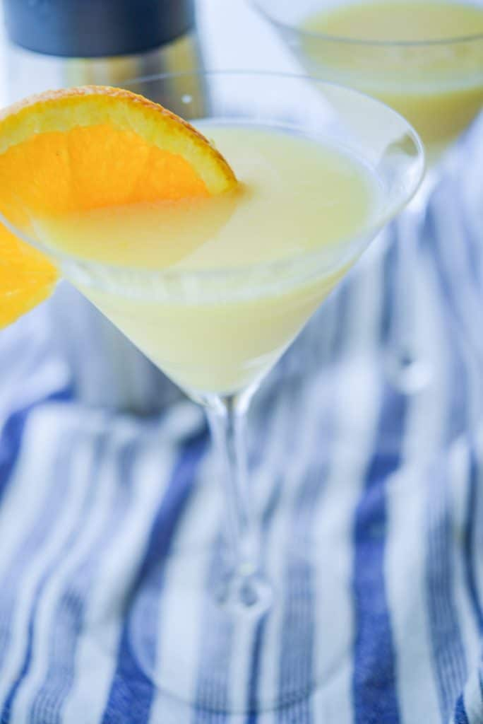 Creamsicle Martini is an alcoholic cocktail made with Galiano and Triple Sec is super creamy and tastes just like your childhood favorite dessert.