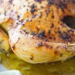 Lemon Pepper Roasted Chicken