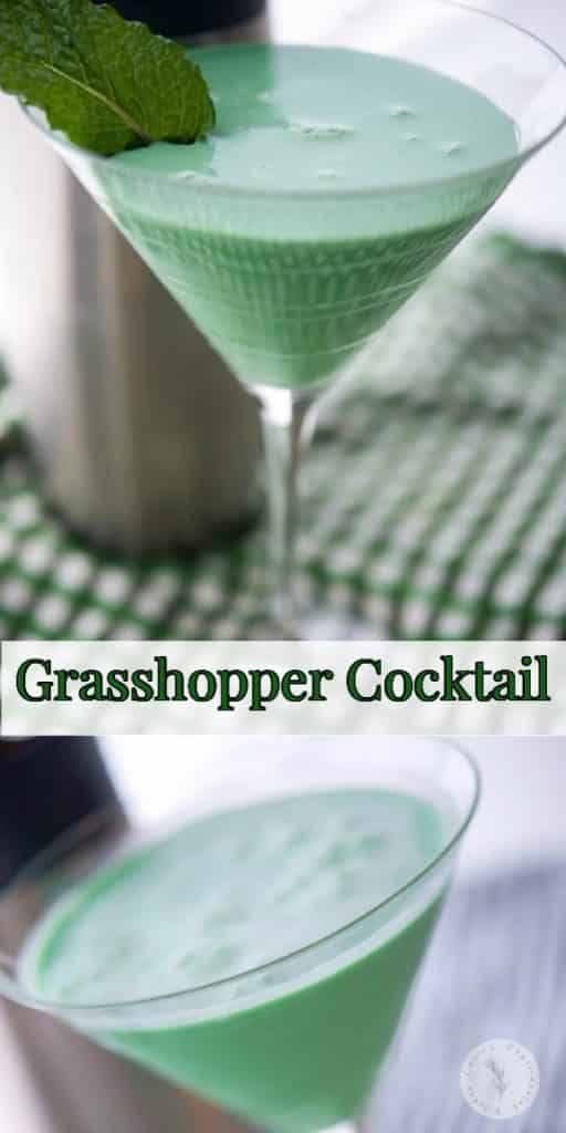 The classic Grasshopper Cocktail made with Creme de Menthe, Creme de Cocoa and heavy cream is still a favorite and would make a tasty drink for your St. Patrick's Day celebrations!