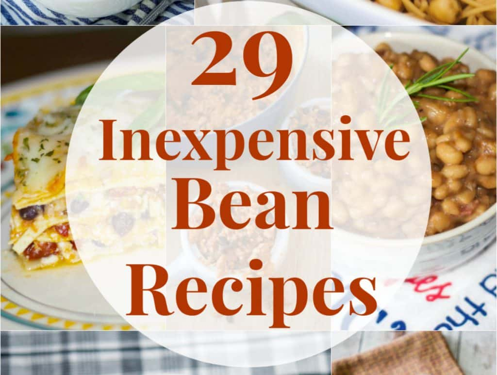 29 Inexpensive Bean Recipes from Carrie's Experimental Kitchen