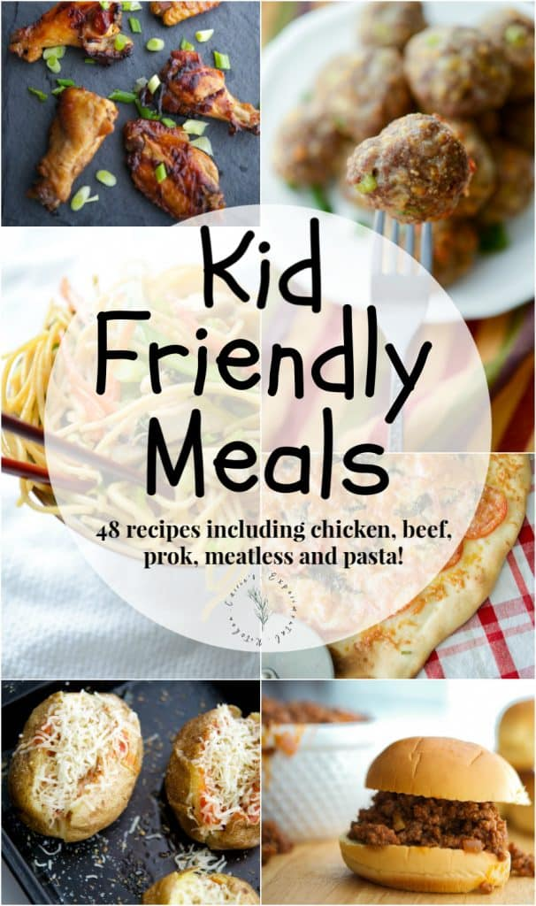 Getting kids to eat is hard! That's why this list of Kid Friendly Meals will make weeknight dinner planning a little bit easier.