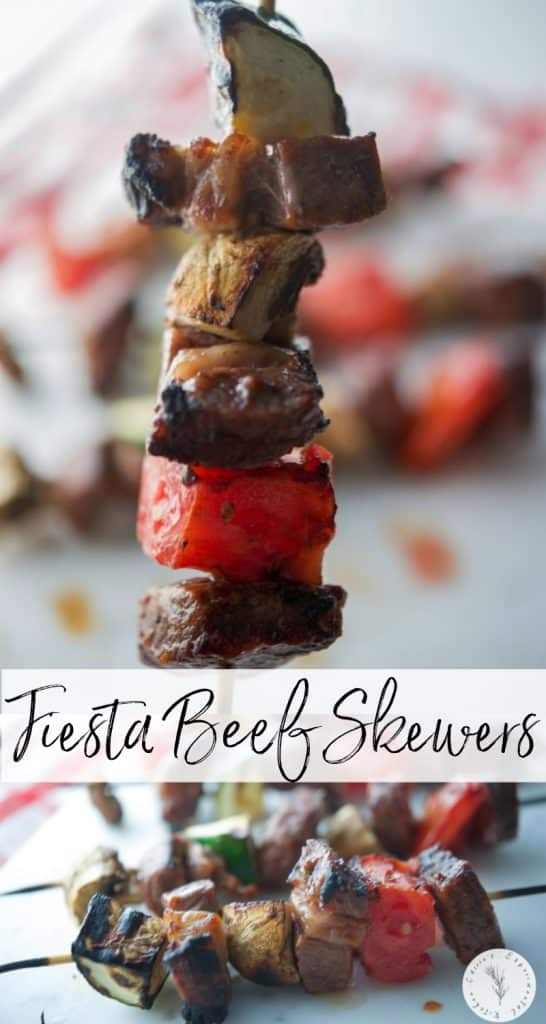 This late 1970 recipe for Fiesta Beef Skewers made with cubed steak, onion soup mix, ketchup, vinegar, oil and mustard has stood the test of time.