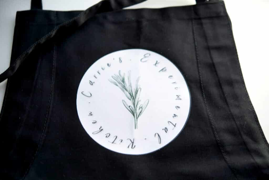 Carrie's Experimental Kitchen Rush Order Tees Custom Apron