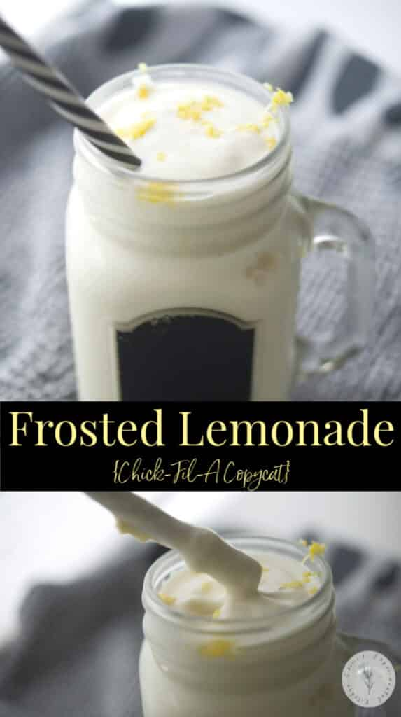 If you enjoy the combination of sweet and tart desserts, you'll love this refreshing Frosted Lemonade made with a combination of lemonade and vanilla ice cream.