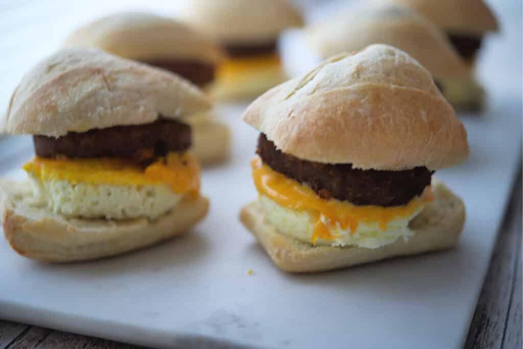 Impossible Breakfast Sandwich
