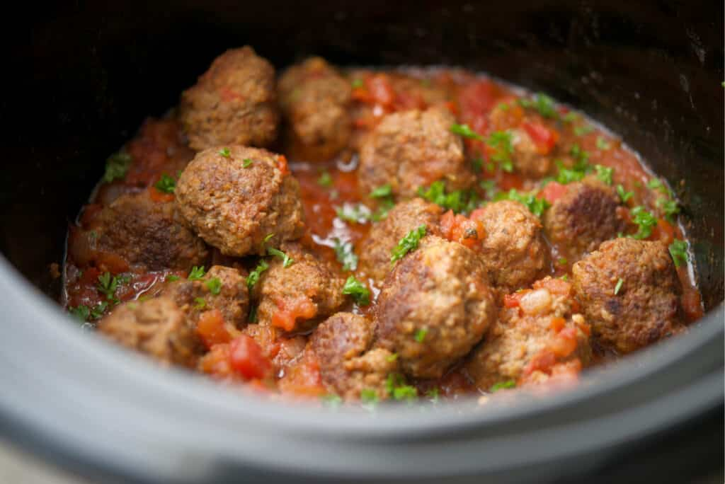 Crock Pot Mexican Meatballs