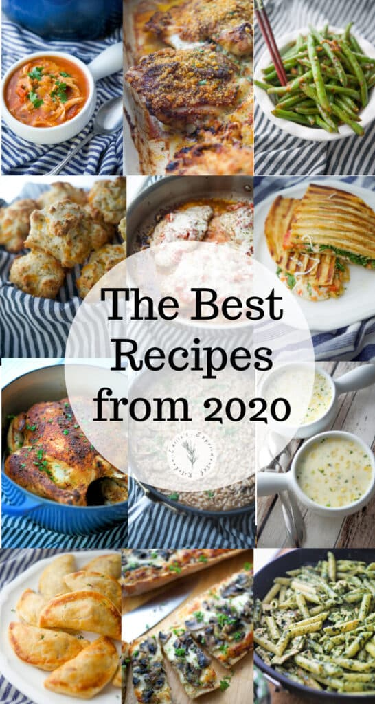 Here are the top 12 best new recipes created in 2020 from Carrie's Experimental Kitchen. My family loved these, I hope yours will too!