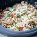 Italian Beans and Rice Slow Cooker