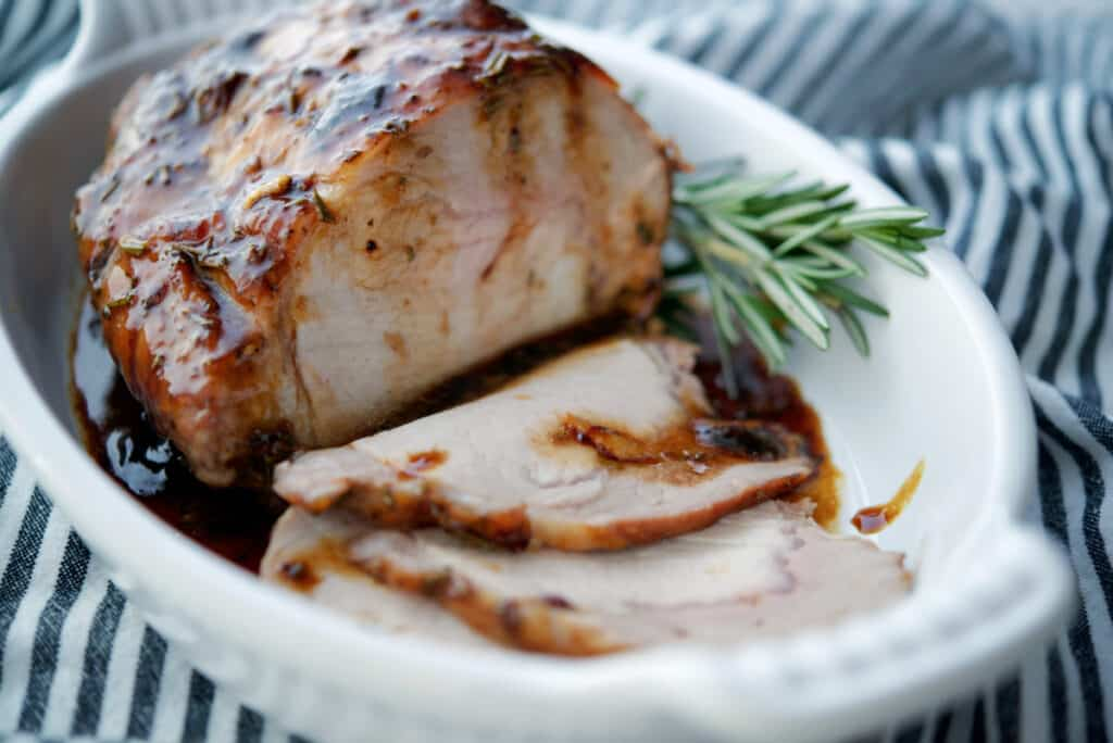 Honey Balsamic Pork Loin