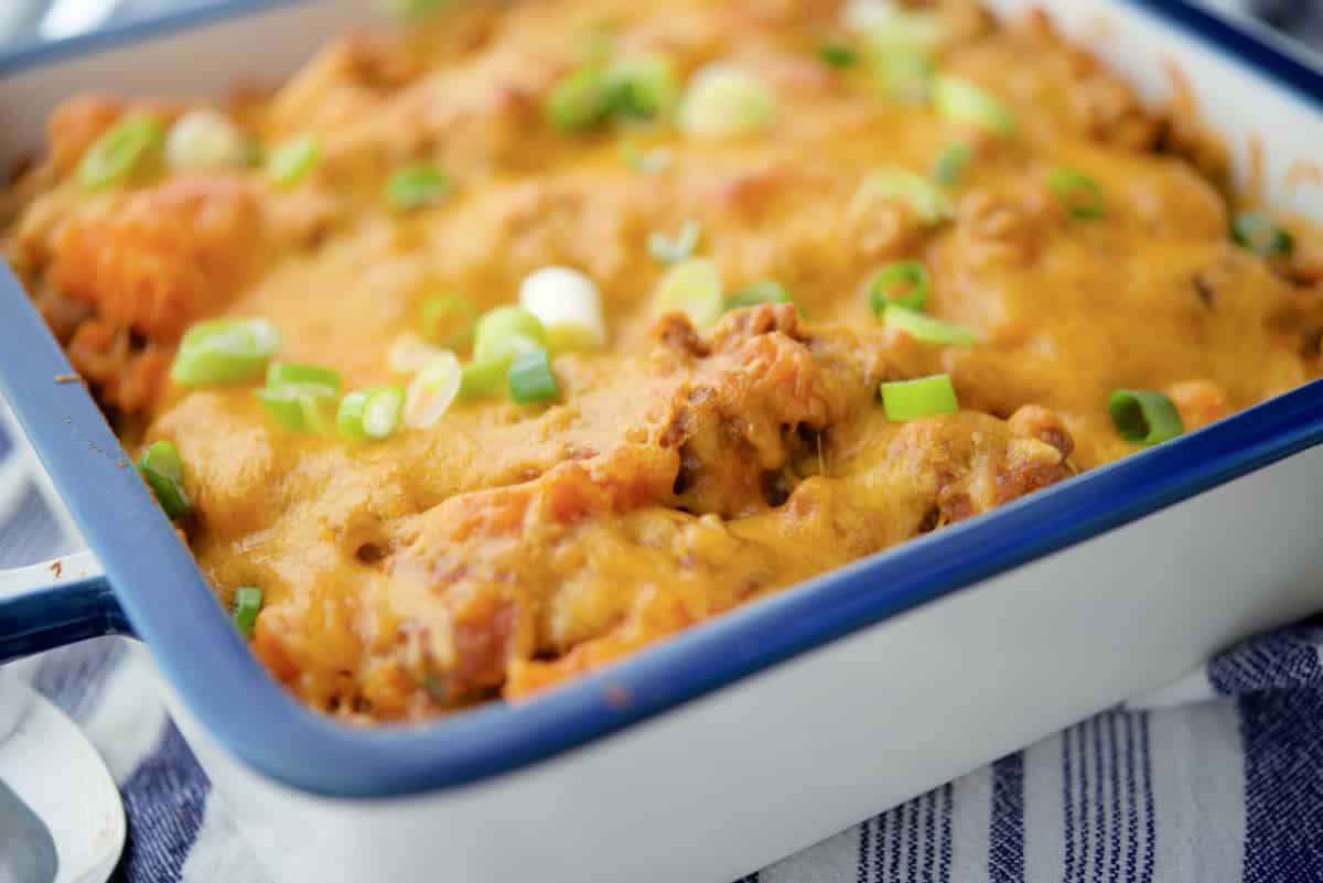 Taco Sweet Potato Casserole
