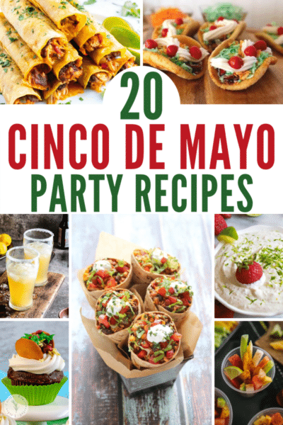 Celebrate Cinco de Mayo in style with these 20 Party Recipes that are sure to add a festive flair to your commemorative gatherings.