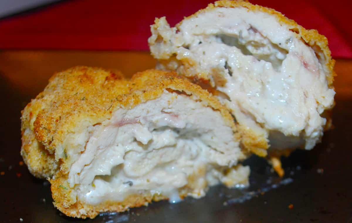 Garlic and Herb Stuffed Chicken