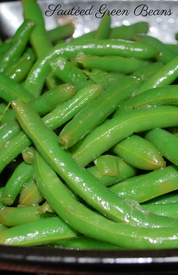 Sauteed Green Beans in a bowl