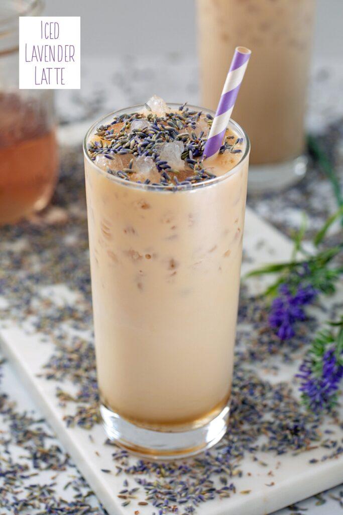 Iced Lavender Latte