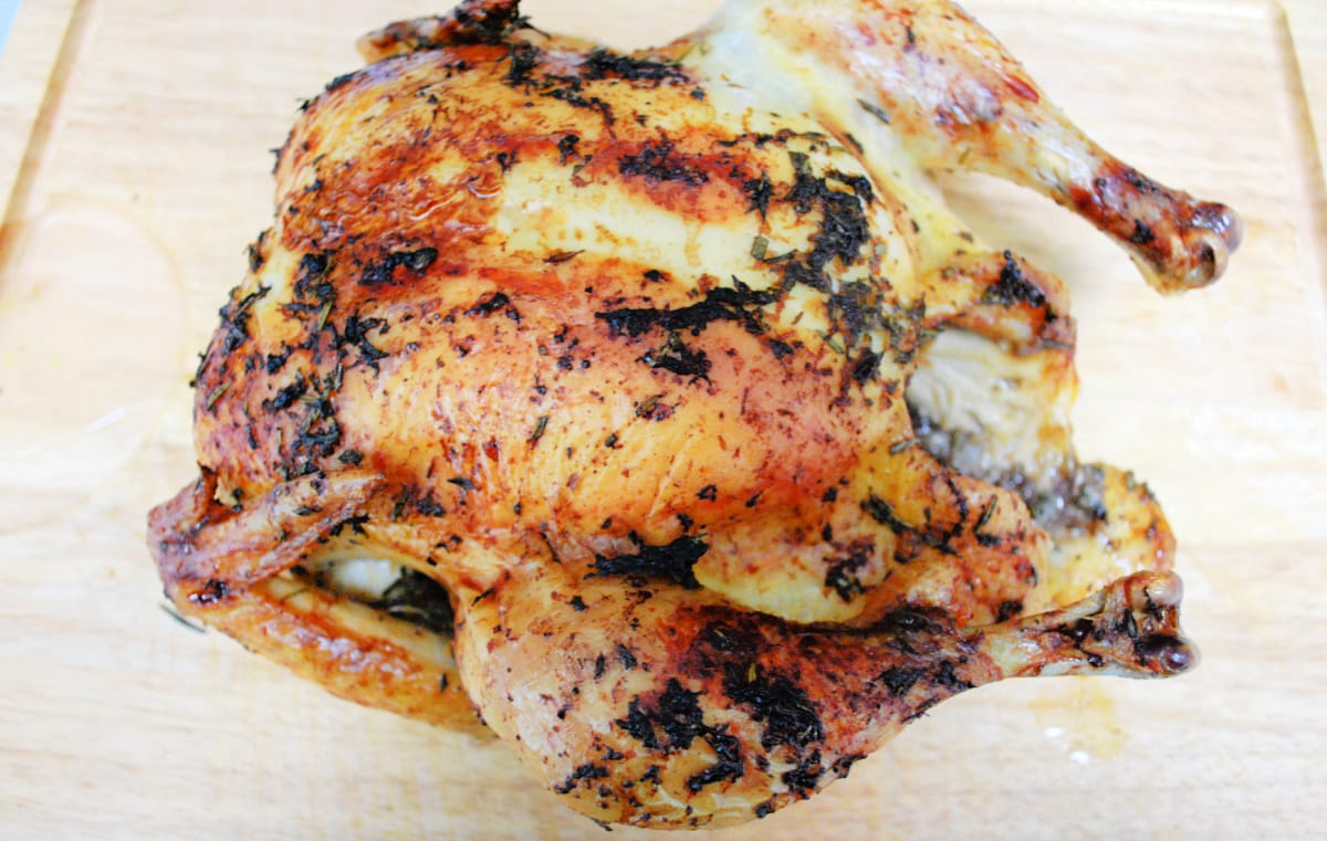 Grapefruit and Herb Roasted Chicken