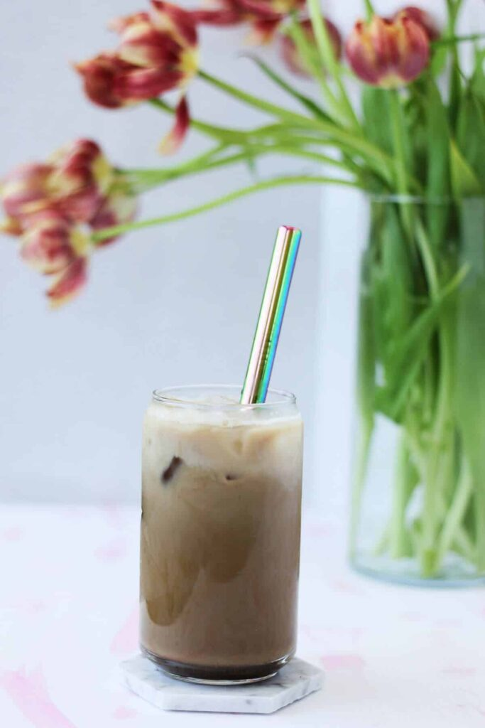 Rose Iced Coffee