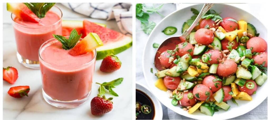 Two Watermelon Recipes