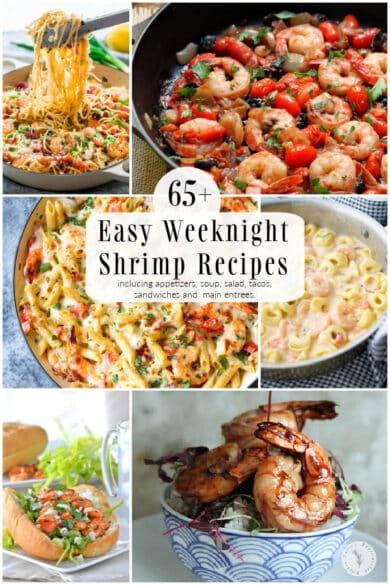 65+ Easy Weeknight Shrimp Recipes
