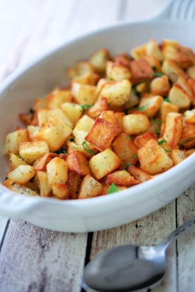 Oregano Fried Potatoes