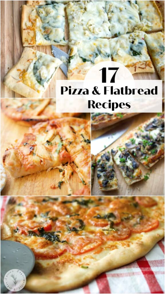 Spice up pizza night by making your own homemade pizza or flatbread by using a prepared crust and your favorite toppings!