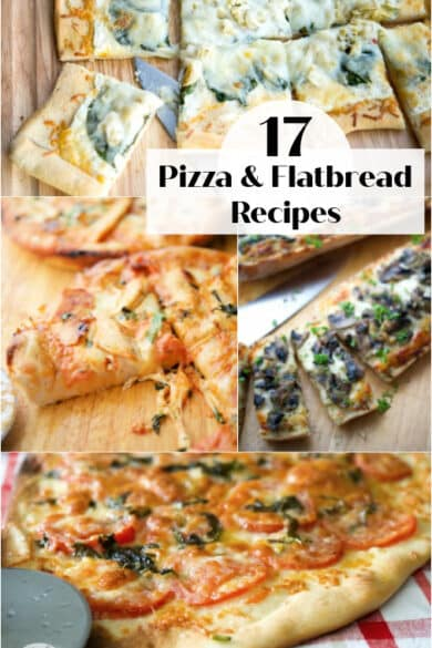 Pizza and Flatbread Collage photo small