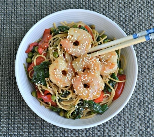 Shrimp Noodle Bowl