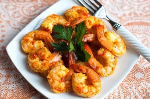 Moroccan Spiced Shrimp