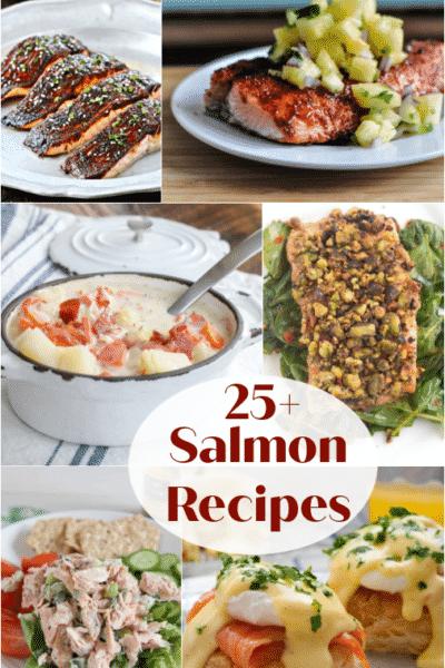 25+ Salmon Recipes