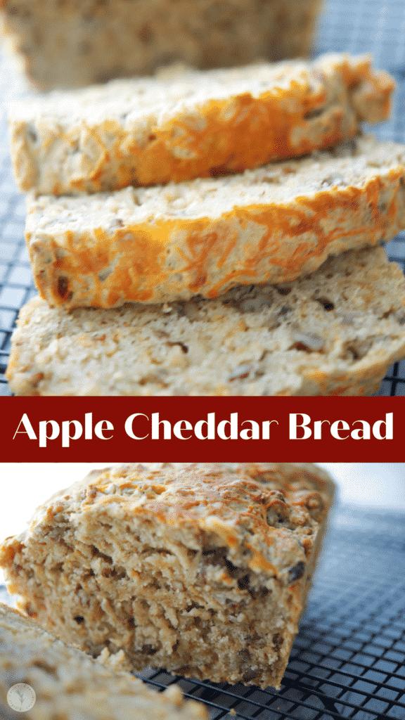 Apple Cheddar Bread collage photo