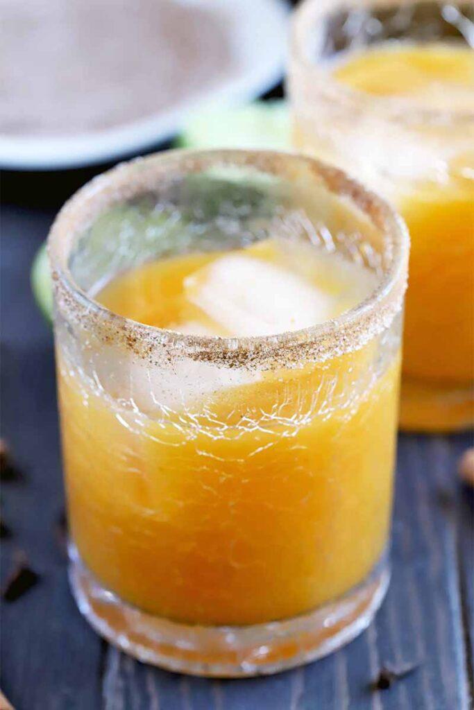 Pumpkin Spice Margaritas