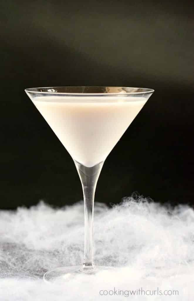 Liquified Ghost Martini