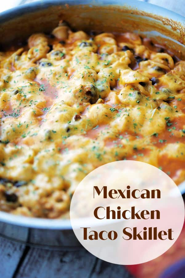 Mexican Chicken Taco Skillet