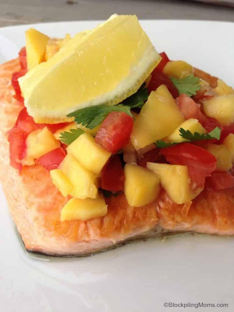 salmon mango salsa