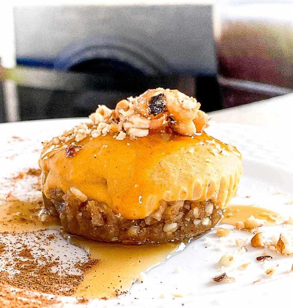 Pumpkin Cashew Cheesecake